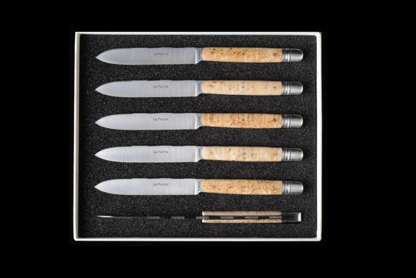 Couteaux de table Le Murat -- Bouleau