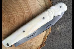 """Couteau Le Murat """" style Nicolas Crocombette """" - sculpture de Philippe Voissiére"""