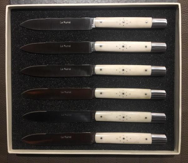 Couteaux de table Le Murat -- Os de buffle